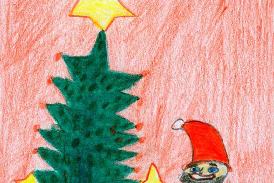Weihnachtskarte von Finn Gross (Foto: Privat)