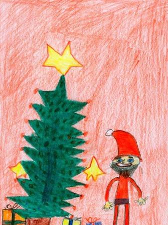 Weihnachtskarte von Finn Gross