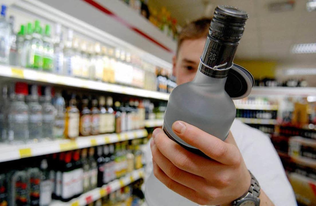 Alkohol wird meist auf Festen getrunken und kaum zuhause ...