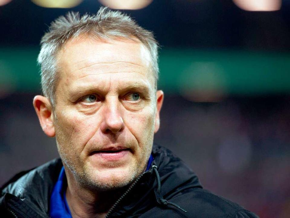 Christian Streich, Trainer des SC Freiburg und Kultfigur wider Willen.  | Foto: dpa