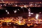 Fotos: Silvester-Feuerwerk in S�dbaden