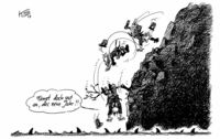 Der Sprung von der Fiskalklippe!