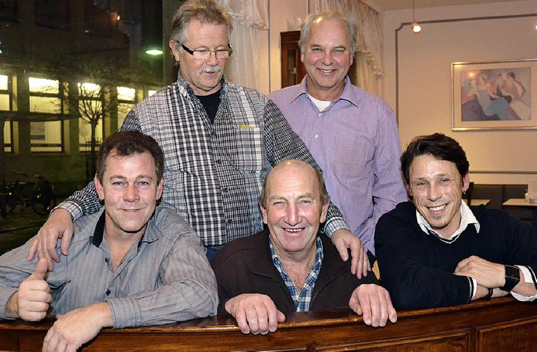 Sie versprechen einen unterhaltsamen Z...unftmeister Stephan Vogt (von links).     Foto: Nikolaus Trenz