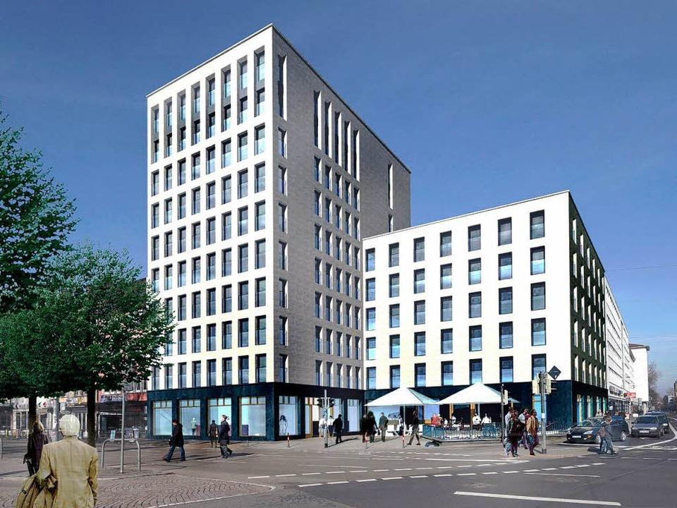 low budget hotelkette will hotel in freiburg bauen freiburg badische zeitung. Black Bedroom Furniture Sets. Home Design Ideas