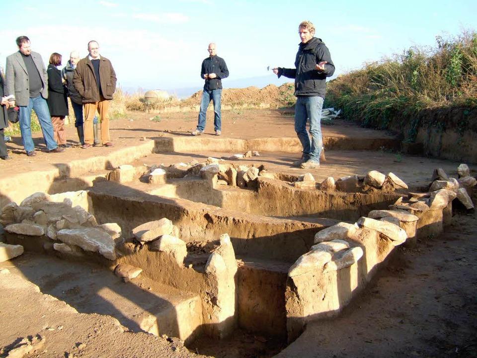 Es scheint sich um ein beliebtes Siedl...Eisen- und Römerzeit entdeckt wurden.   | Foto: Susanne Müller