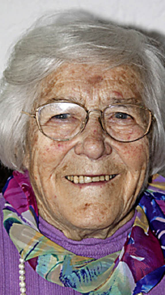 <b>Anna Beck</b> ist 90 Jahre alt Foto: Chris Seifried - 68339893