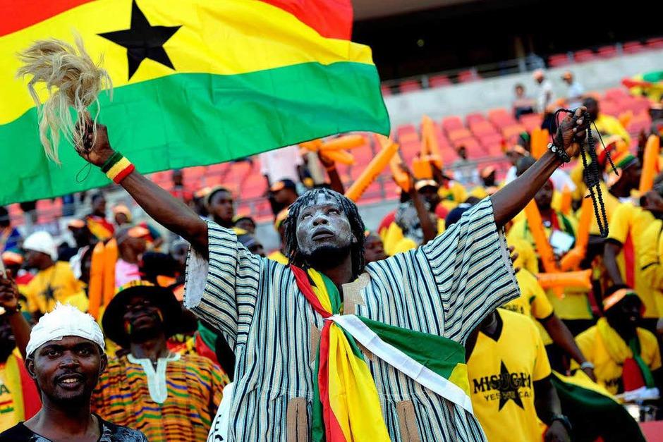 Fans aus Ghana (Foto: AFP)