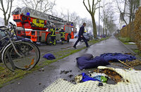 Vier Verletzte bei einem Schwelbrand