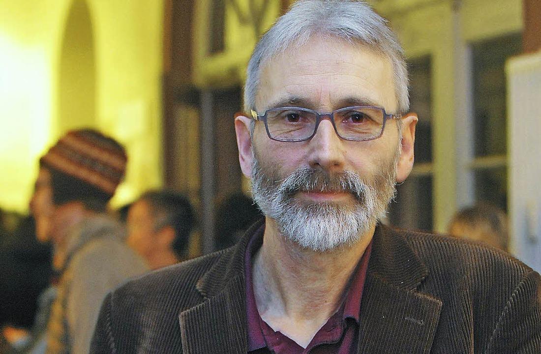 Peter Ohlendorf  will eine  Diskussion über Medienkultur.    Foto: bamberger