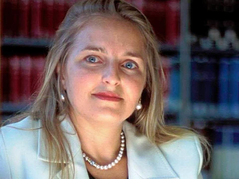 Die Kommissionsvorsitzende Letizia Pao...n. Sie schweigt zu Siewerts Vorwürfen.    Foto: privat