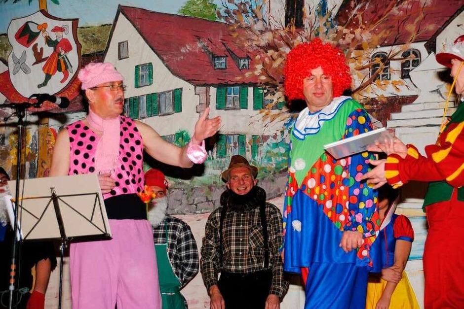 """In die Welt der Märchen hatten diesmal die """"Binzemer Thonnerknaben"""" eingeladen (Foto: Norbert Sedlak)"""