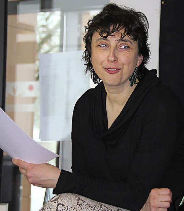Autorin und Krimi-Entertainierin  Anne Grießer   | Foto: Sabine Model