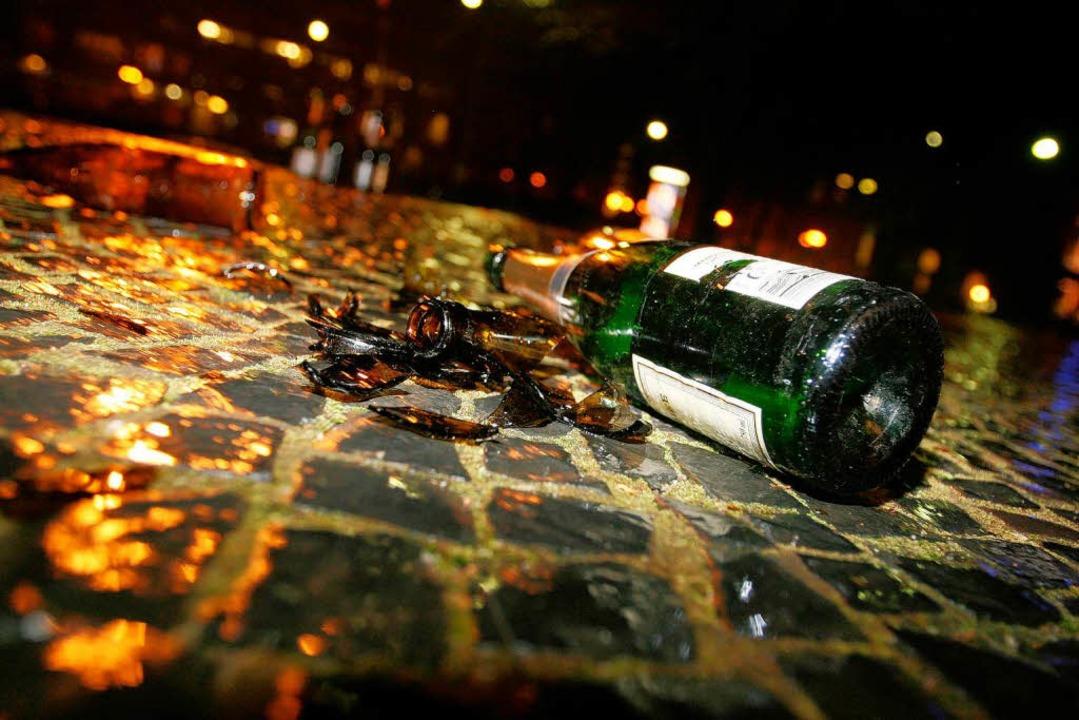 Partyzone Altstadt: Anwohner fordern m...en kontrovers über mögliche  Lösungen.  | Foto: Rita Eggstein