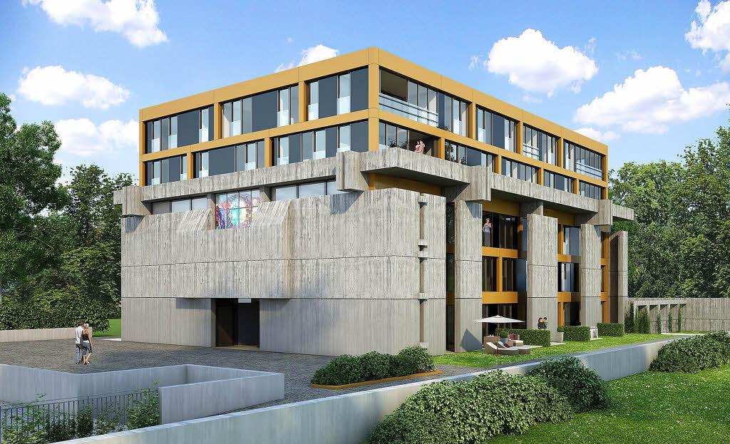immobilienprojekt church chill wohnen in der kirche freiburg badische zeitung. Black Bedroom Furniture Sets. Home Design Ideas
