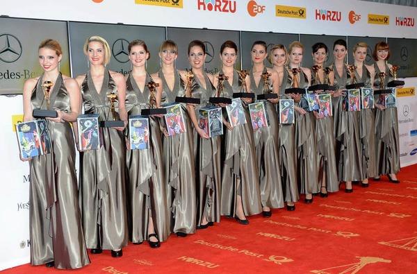 Verleihung der 48. Goldenen Kamera in Berlin.