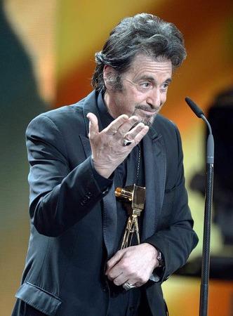 """Al Pacino wurde in der Kategorie """"Lebenswerk International"""" ausgezeichnet."""