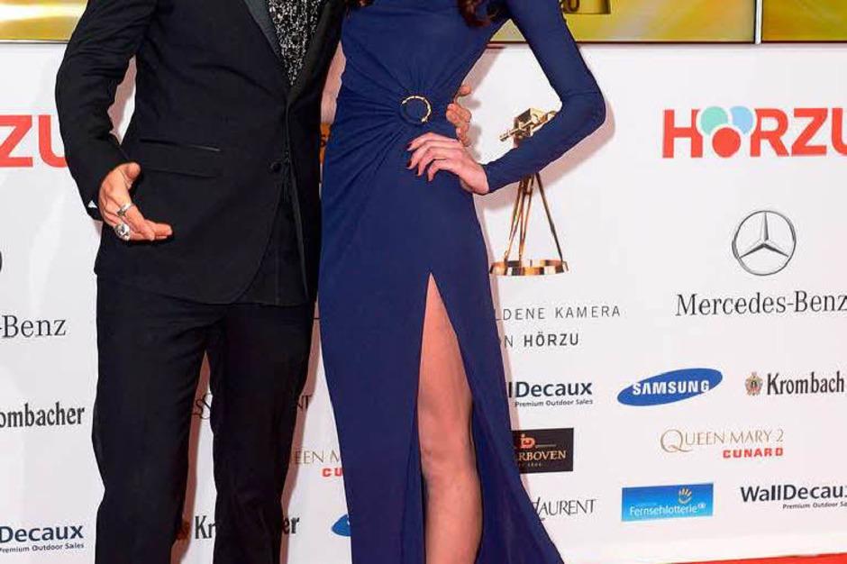 David Garrett & Tatjana Gellert (Foto: dpa)