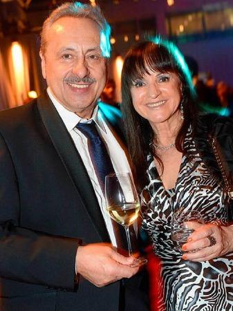 Wolfgang Stumph mit seiner Frau Christine.