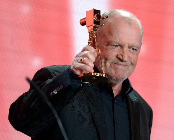 """Der britische Saenger John Robert """"Joe"""" Cocker wurde in der Kategorie """"Lebenswerk Musik"""" ausgezeichnet."""