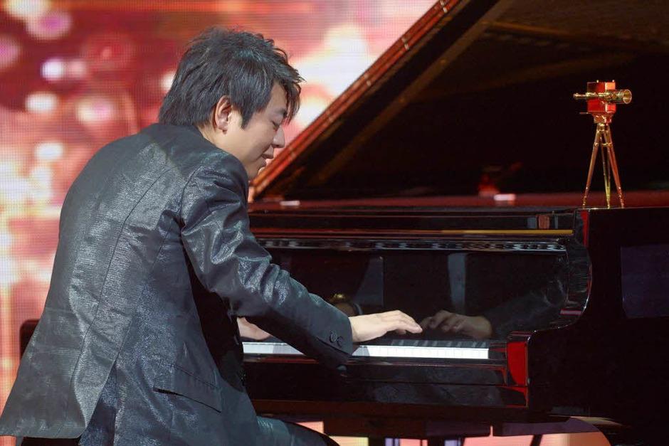 """Der chinesische Pianist Lang Lang wurde in der Kategorie """"Beste Musik International"""" ausgezeichnet. (Foto: dapd)"""