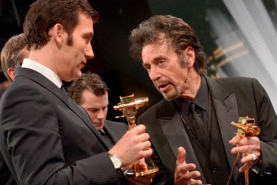 Clive Owen & Al Pacino (Foto: dapd)