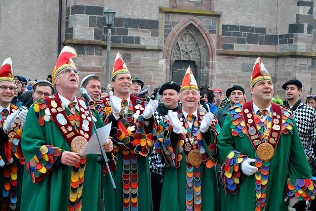 Fotos: Rathausstürmung in Breisach