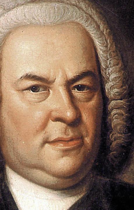 Ein ganz Großer: J. S. Bach  | Foto: BZ