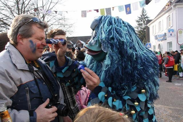 Fotos: Narrentreiben in Hartheim