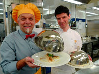 Kochshow-Star André Muller zu Gast in Baden