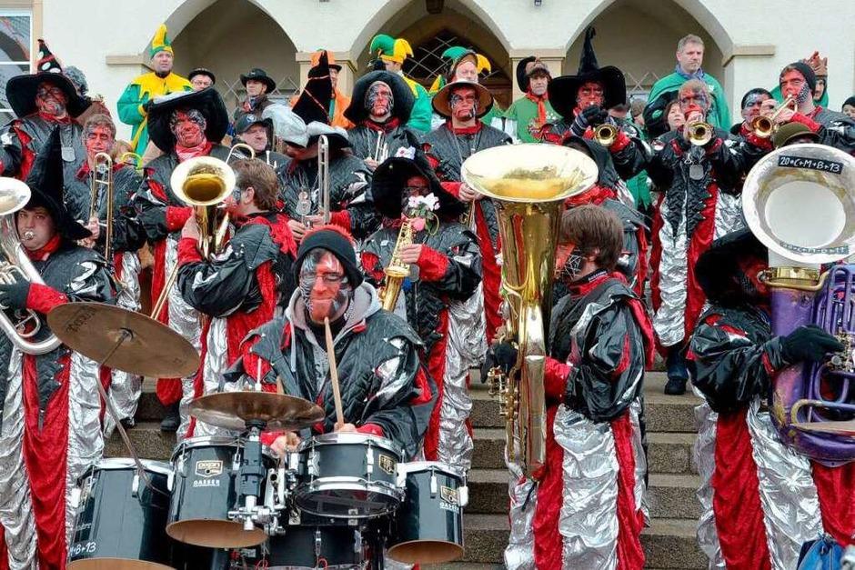 Guggenmusik Bonndorf (Foto: Juliane Kühnemund)