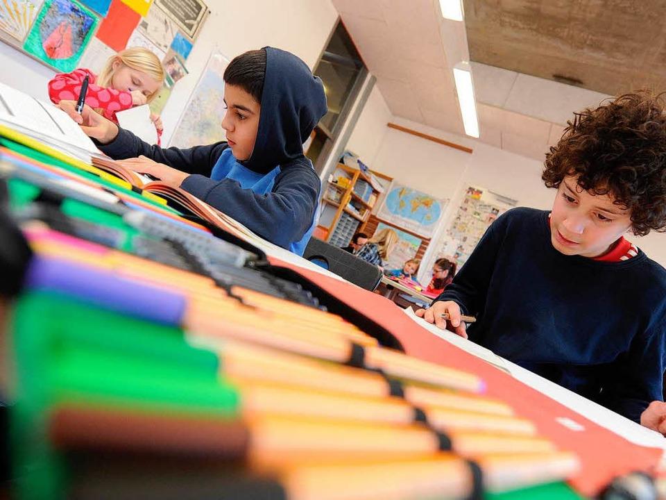 Schüler sollen nicht mehr sitzenbleiben.    Foto: dpa