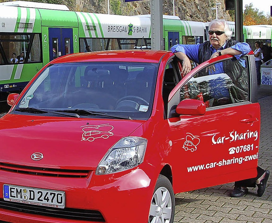 Carsharing gibt es nicht nur in Städte...d eine Flotte mit mehreren Fahrzeugen.  | Foto: archivfoto: Sylvia Timm