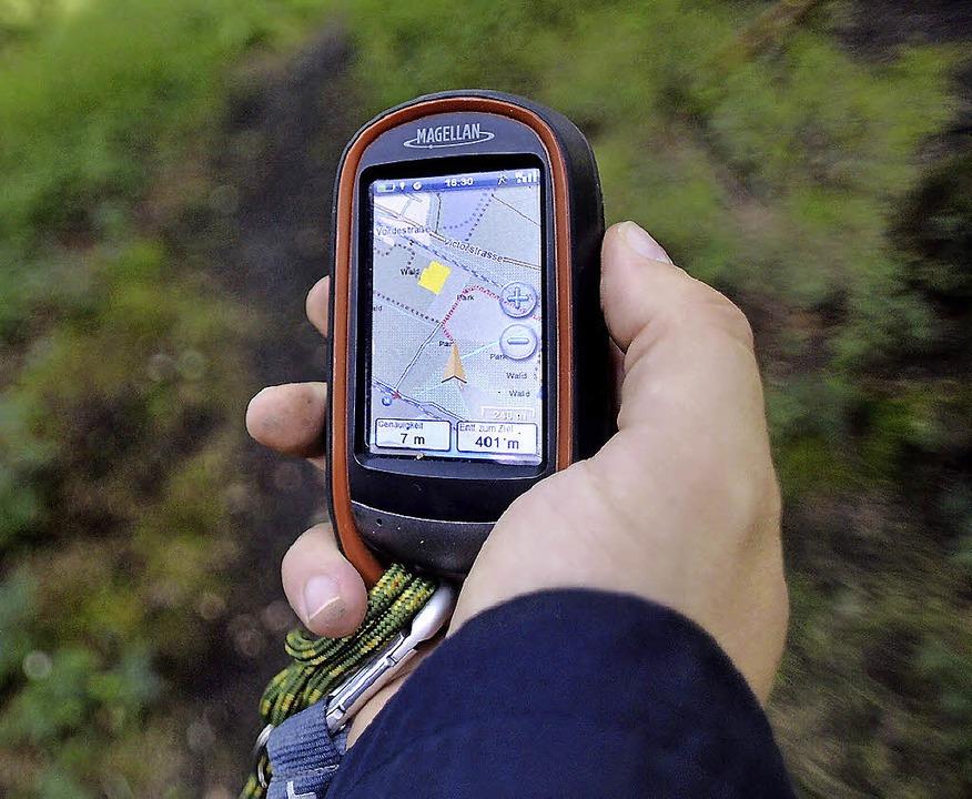 Geocaching ist eines der Angebote im n... des Schwarzwaldvereines Reichenbach.   | Foto: dapd