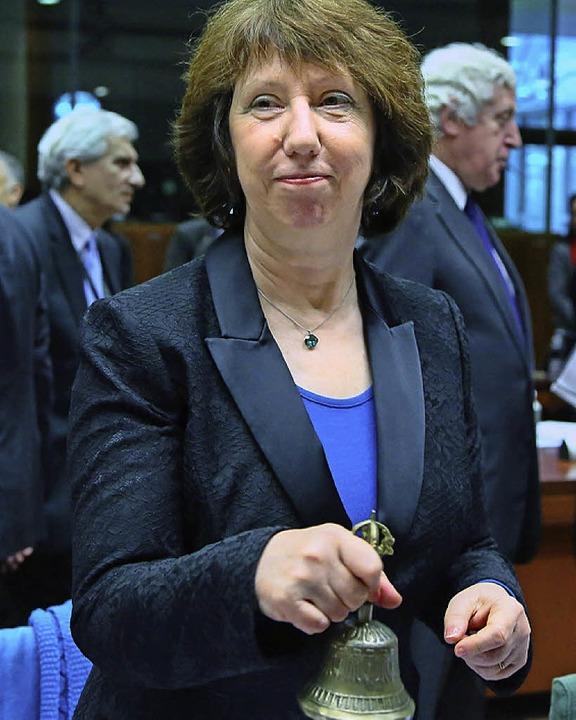 Catherine Ashton  | Foto: dpa