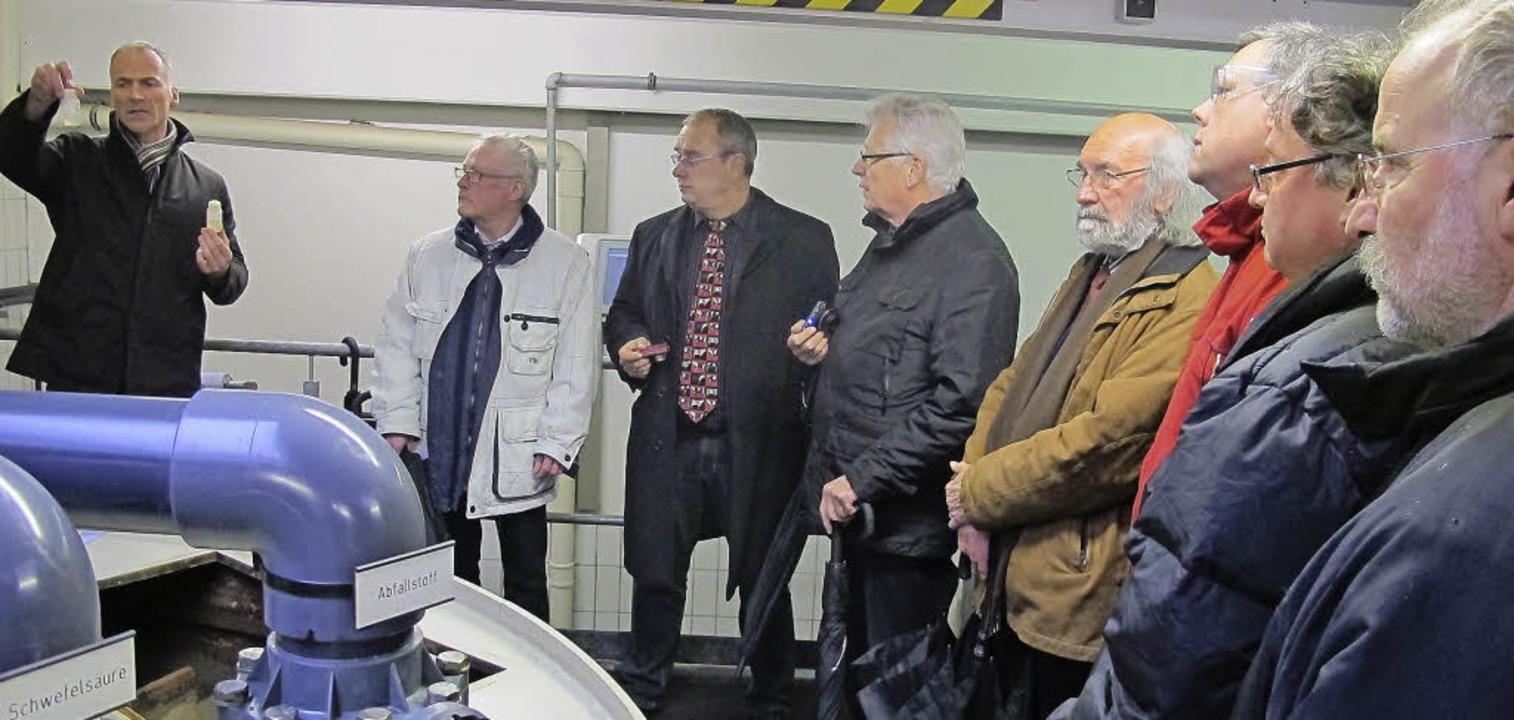 Der Technische Leiter von Zimmermann, ...orleiter Uwe Perl (zweiter von links).  | Foto: Privat