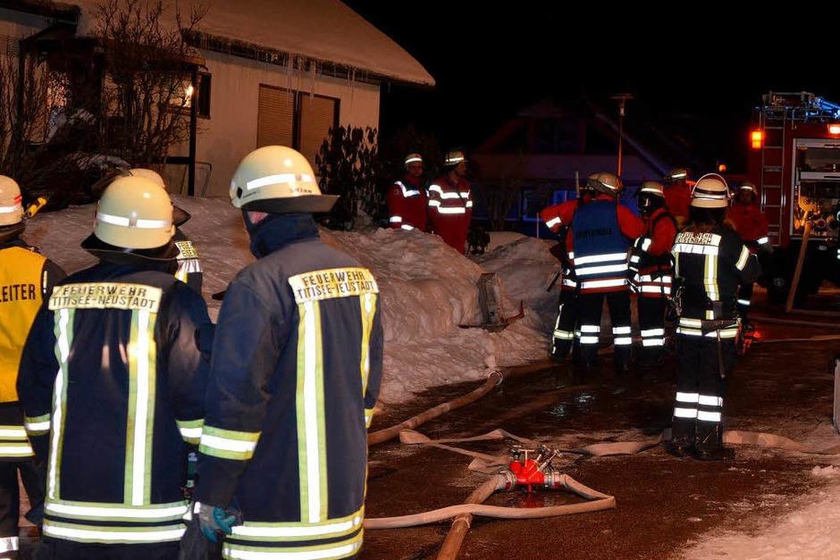 Explosion in Eisenbach – Gasflasche löst Detonation aus. (Foto: Martin Ganz)