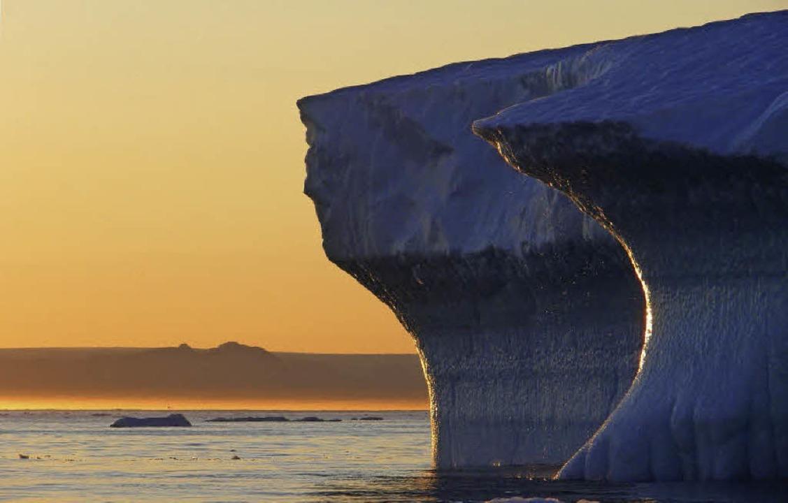 Kalt: Wie sich das Eis an den Polen verhält, ist nach wie vor ungewiss.     Foto: dpa/ddp/A.Frey