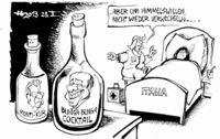 Die Medizin mit der Fuselflasche