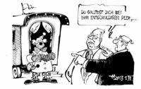 """""""...wegen des Vergleichs mit Berlusconi!"""""""