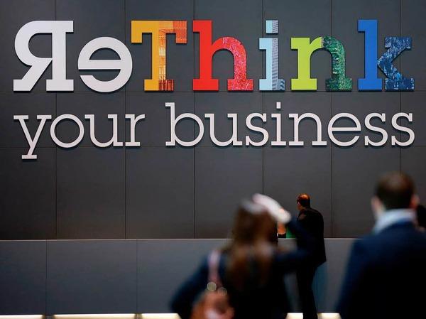 Den Betrieb neu überdenken - mit diesem Motto wirbt das amerikanische IT- und Beratungsunternehmen IBM um Kunden.