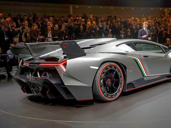 Der neue  Lamborghini Veneno.
