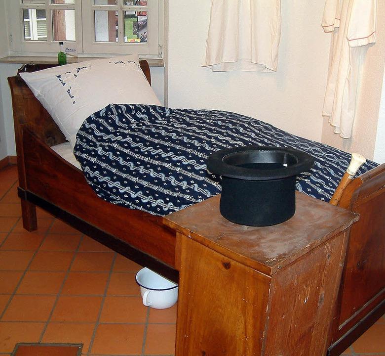 wer hat in diesem bett geschlafen schopfheim badische zeitung. Black Bedroom Furniture Sets. Home Design Ideas