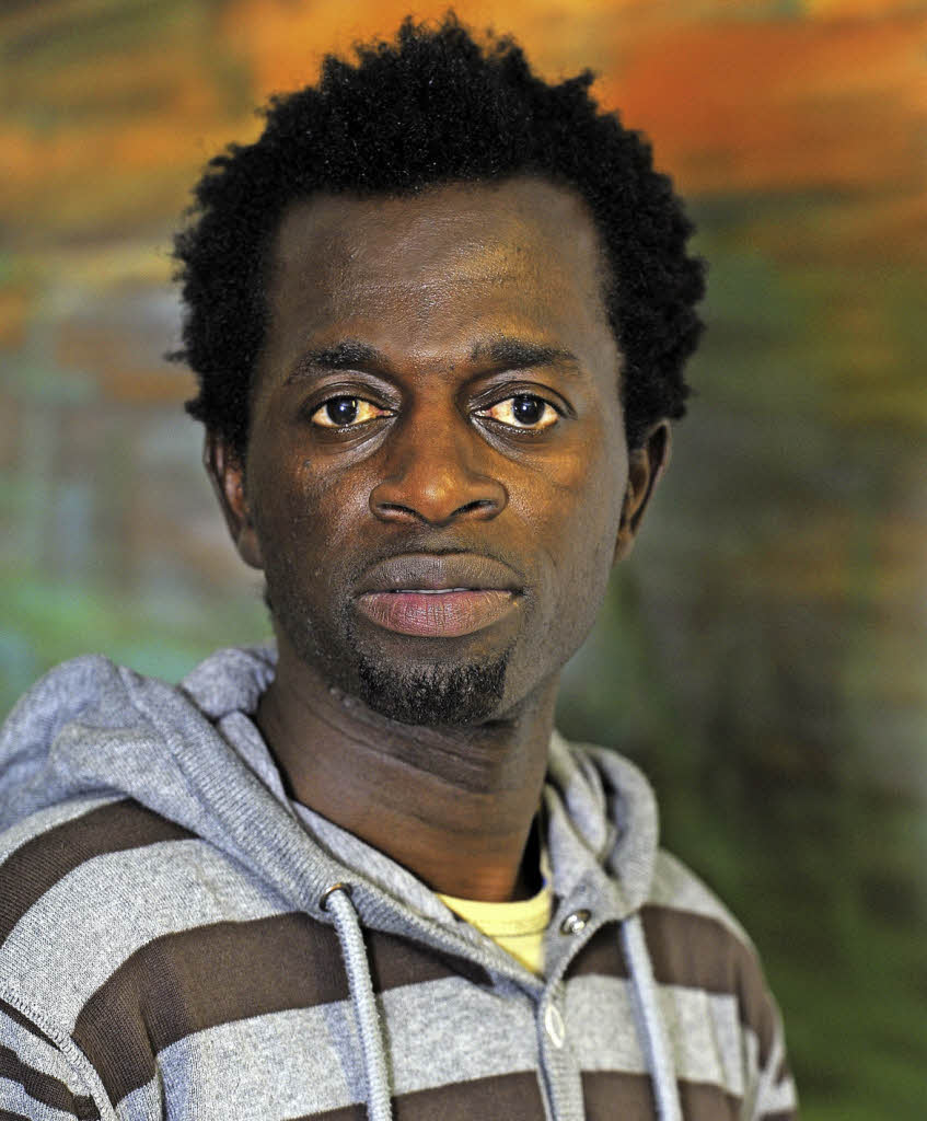 """Musiker – und Flüchtling: """"Sam"""" aus Gambia auf Tour - Freiburg - Badische Zeitung"""