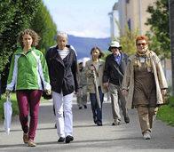 Sport im Alter: Der Bewegungsparcours im Rieselfeld