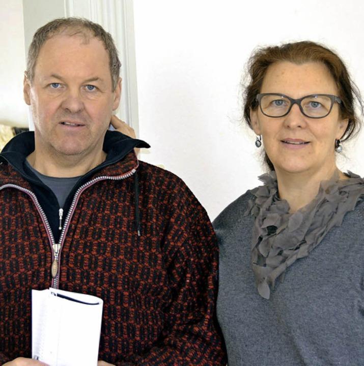 Geschwister:  Armin Göhringer und Petra Göhringer-Machleid    Foto: Birgit Herrmann