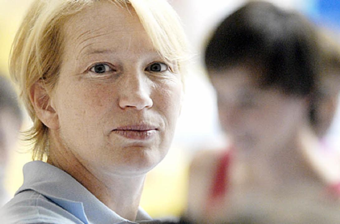 Die Lotsin geht von Bord: Gabi Fußhöller sagt den MHTG-Turnerinnen Adieu.   | Foto: kaufhold
