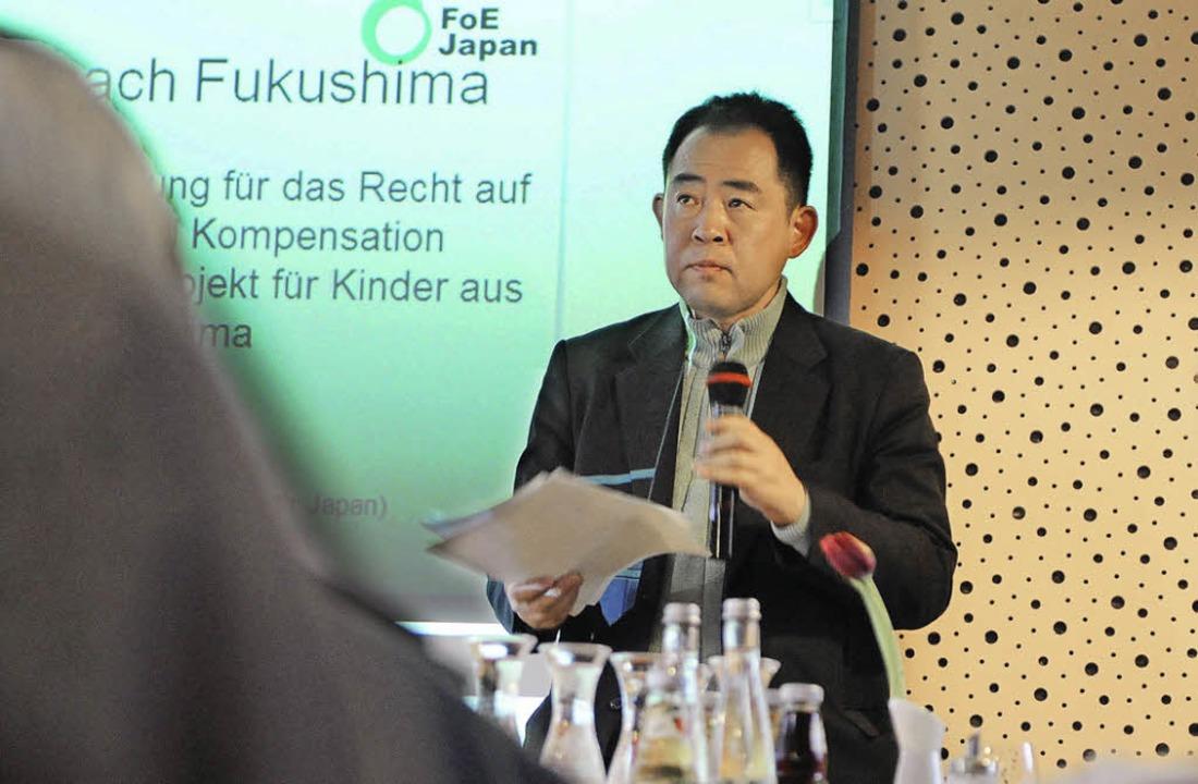 Einsatz für Kinder und gegen AKWs: Katsumi Hasegawa  | Foto: rita eggstein