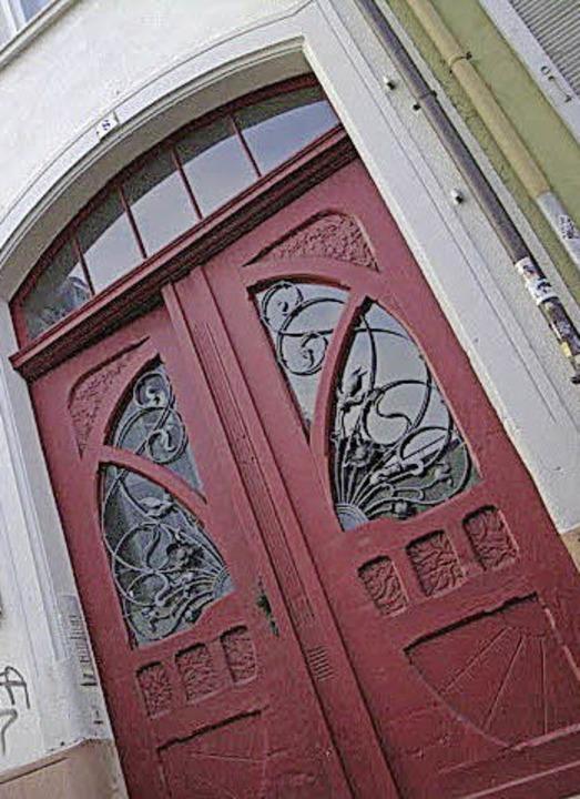 Eintreten, bitte    Foto: Littmann