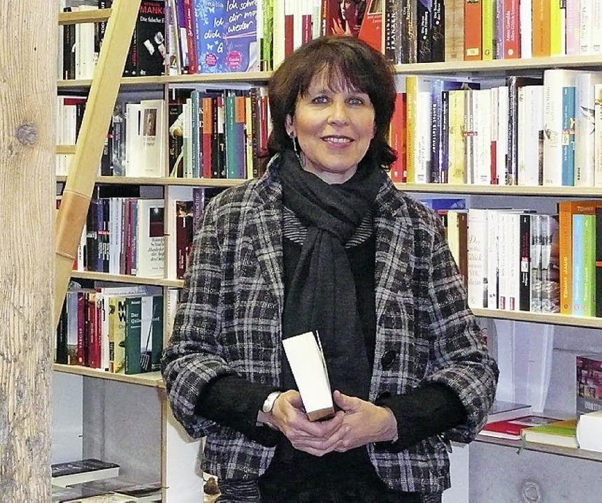 Den Großen Paroli bieten: Buchhändlerin Sibylle Steinweg     Foto: Privat