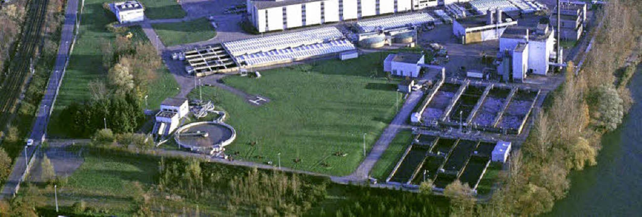 Der Bereich der Kläranlage auf dem BAS...das Gebiet der früheren Keßler-Grube.   | Foto:  Archiv